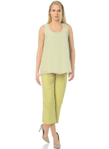 Caramel Bluz Yeşil